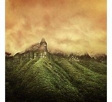 Corvus Peak Photographic Print