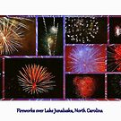 Fireworks over Lake Junaluska, North Carolina by Paula Tohline  Calhoun