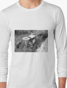 Out to pasture (sketch) Long Sleeve T-Shirt