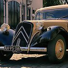 An old Citroen Traction Avant by Mark Bunning