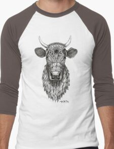 The Cow Men's Baseball ¾ T-Shirt