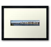 Maastricht panorama Framed Print