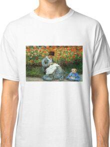 Madame Monet 3-D Redux Classic T-Shirt