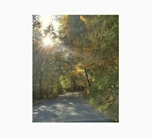 Autumn Road in Indiana Unisex T-Shirt