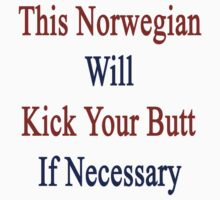 This Norwegian Will Kick Your Butt If Necessary  by supernova23
