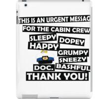 Cabin Pressure- dwarf names iPad Case/Skin