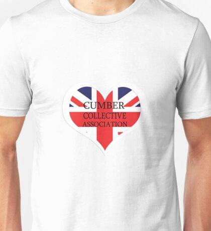 Benedict Cumberbatch Collective heart Unisex T-Shirt