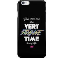 Very Strange Time (Fight Club) - Quote Series iPhone Case/Skin