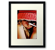 The Girl in the Faded Red Hat #2 Framed Print