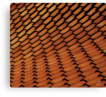 Spanish Style Tile Abstract Canvas Print