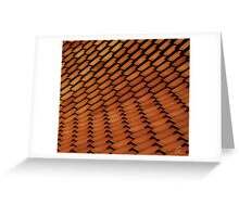 Spanish Style Tile Abstract Greeting Card