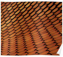 Spanish Style Tile Abstract Poster