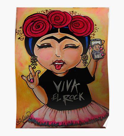 Frida Rocks / Frida Roquera Poster