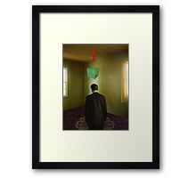 in a room somewhere Framed Print