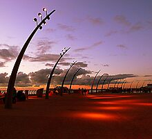 Dusk on the Promenade by Lilian Marshall