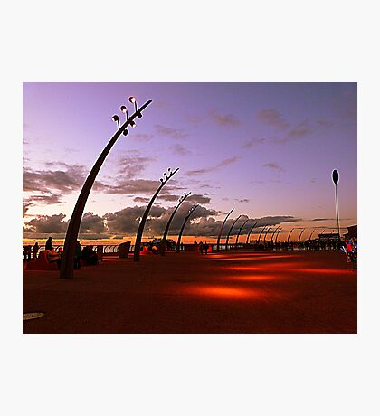 Dusk on the Promenade Photographic Print