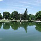 Albany Rural Cemetery - Pond by Stephanie Fay