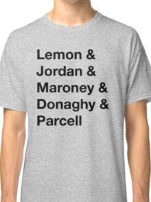 30 Rock Cast Names Classic T-Shirt