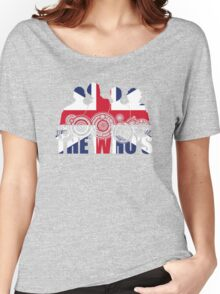 The Who's (Distressed) Women's Relaxed Fit T-Shirt