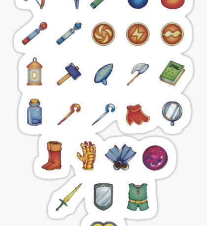 Zelda Inventory 2 Sticker