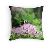 Bumble Bee, Bumble Bee Throw Pillow