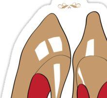 Christmas Shoes Sticker