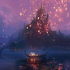 Disney Tangled Castle Boat by N1K0VE