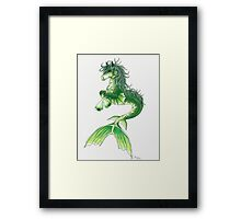 Kelpie Mystical Sea Monster Framed Print