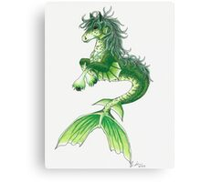 Kelpie Mystical Sea Monster Canvas Print