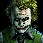 Heath Ledger Joker Print by paulabstruse