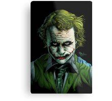 Heath Ledger Joker Print Metal Print