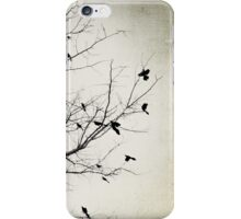 : Artistic Tree and Birds in Lone Pine : iPhone Case/Skin