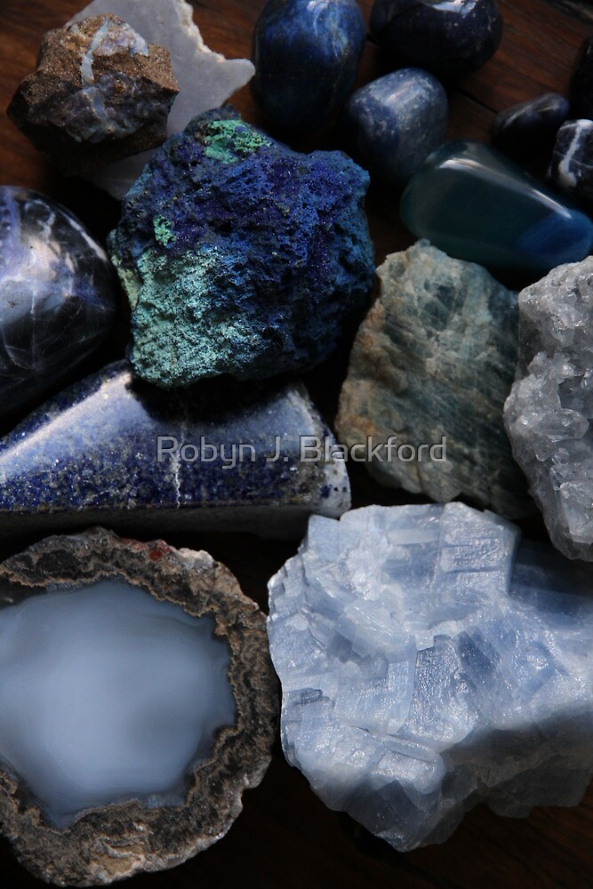 Crystals: The Blue Collection by aussiebushstick