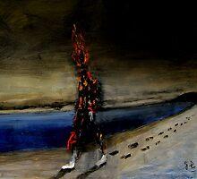burning man by glennbrady
