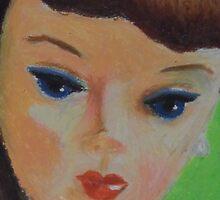 Brunette Barbie Closeup by RustyandJosh