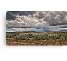 High Desert Storm Canvas Print