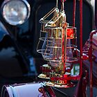 Lanterns 1919 fire truck by Jeannie Peters