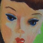 Brunette Barbie Closeup by RustyandJosh