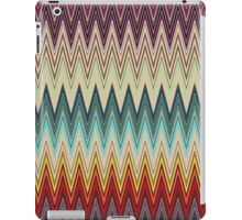 Zig Zag Striped Patterns iPad Case/Skin