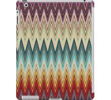 Zig Zag Striped Patterns iPad Case/Skin