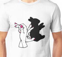 Rabbit Shadow Puppet Unisex T-Shirt