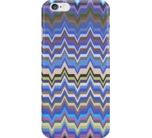 Missoni Blue Zig Zag Pattern iPhone Case/Skin