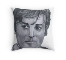 Alain Delon Throw Pillow