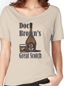 Doc Brown's Great Scotch Women's Relaxed Fit T-Shirt