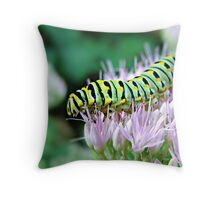 """Tip Toeing Through The Pink"" Throw Pillow"