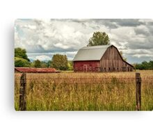 Still Waiting For The Cows To Come Home Canvas Print