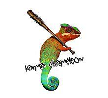 Karma Chameleon Photographic Print