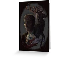 Hannibal: Unholy Trinity Greeting Card