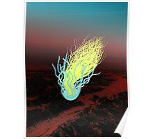 Jellyfish Mountain Poster