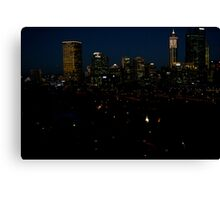 Perth City Lights Canvas Print